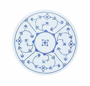 kahla 410852a75056h blau saks geschirr set porzellan tafelservice 6 personen blauwei rund. Black Bedroom Furniture Sets. Home Design Ideas