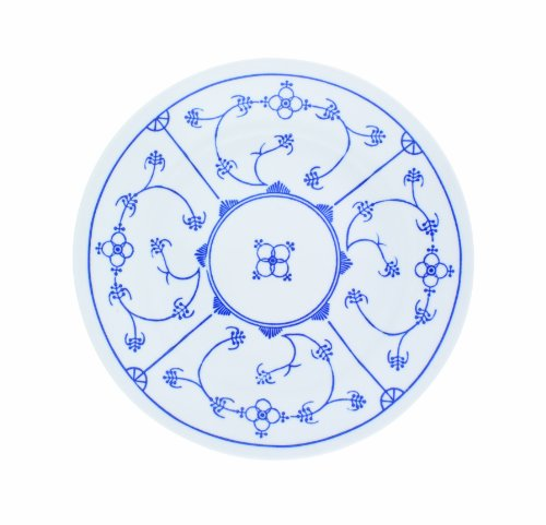 Kahla 410852A75056H Blau Saks | Geschirr-Set Porzellan | Tafelservice 6 Personen blauweiß rund 30...
