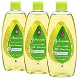 Johnson's Baby Shampoo Kamille 300ml - 3 Flaschen pro Pack = 900ml