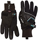 LEKI Handschuhe Nordic Thermo Shark, Black-Cyan, 7, 63285313