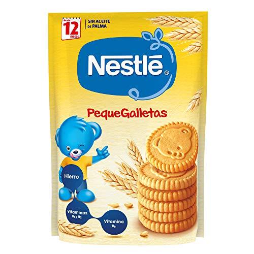 Nestlé PequeGalletas Para bebés a partir de 12 meses - Paquete de...
