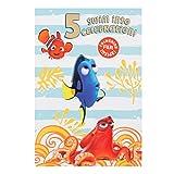 Hallmark Carte d'anniversaire Le Monde de Dory, pour 3e anniversaire, coloriage inclus – taille moyenne Carte d'anniversaire 5 ans mixte...
