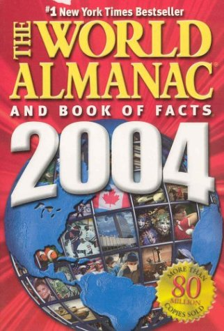 The World Almanac and Book of Facts 2004 Canadian Paperback