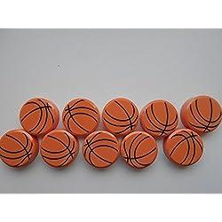 40 nuevo fuerte barato Imanes de baloncesto naranja-negro para Tablón de anuncios Refrigerador etc