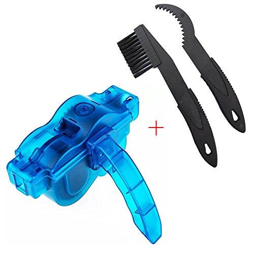 Fahrrad Kettenreinigungsgerät, Yanhuanchan Bike Bicycle Chain und Zahnkranz Cleaner Gang Reinigung Scrubber Pinsel-Werkzeug - Blau