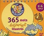 365 mots illustrés 5-6 ans de Play Bac