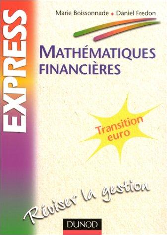 Mathématiques financières : transition, euroréviser la gestion