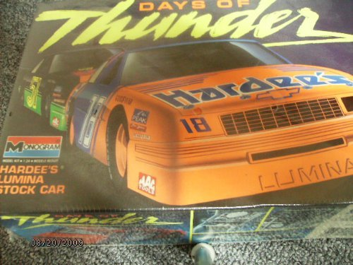 hardees-chevy-lumina-18-model-kit-1990-by-monogram