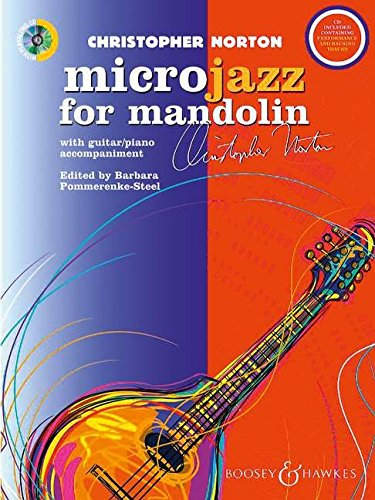 Microjazz for Mandolin: Mandoline und Gitarre oder Klavier. Ausgabe mit CD.