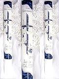 Battesimo candela comunione candela giovane 400/40 mm VT-30 con accessori per sé stessi ma anche scrivere
