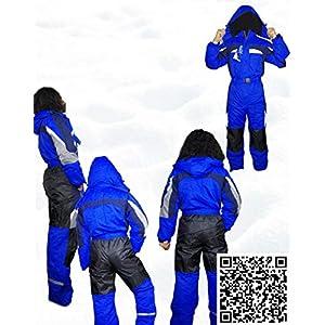 Moderei Auswahl an Schneeanzug | Schneeoverall Skianzug | Skioverall Snowboard Unisex | Jungen | Mädchen | Herren | Damen Schneeanzug (Blau, Rot, Orange, Schwarz 146-170) …