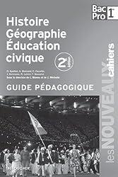 Les Nouveaux Cahiers Histoire-Géographie - Éducation civique 1re B.Pro G.P