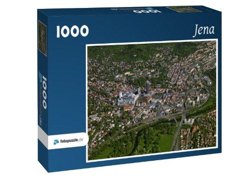 Jena - Puzzle 1000 Teile mit Bild von oben