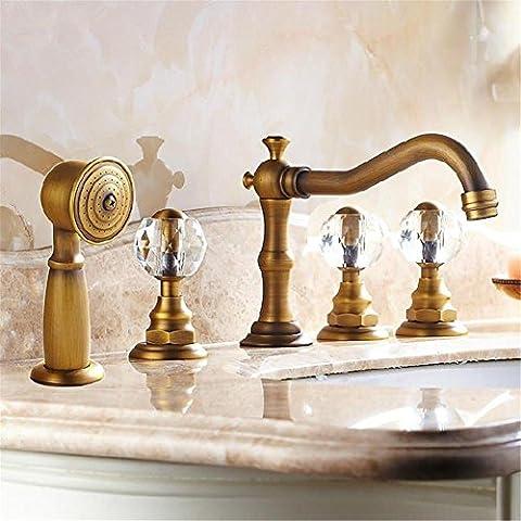 modylee buona qualità Vasca 5Fori per Vasca da bagno rubinetto