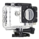 SJCAM Motorcycle Waterproof Case for Original SJCAM SJ5000 / 5000 WiFi / 5000X Black