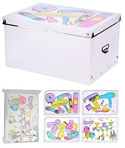 Aufbewahrungsbox Box Ordnungsbox Stapelbox Karton Deckel