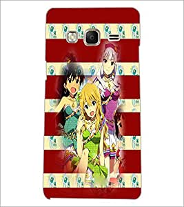 PrintDhaba Girls D-3933 Back Case Cover for SAMSUNG Z3 (Multi-Coloured)