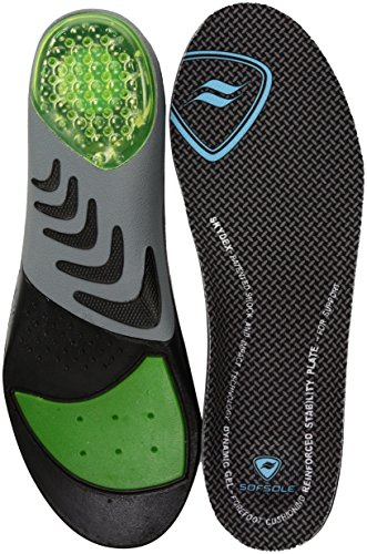 Sof Sole Insoles Women's AIRR Orthotic Support Full-Length Gel Shoe Insert - Athletic Sole Sof