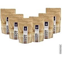BodyChange Brotbackmischung 6er Pack - glutenfrei, natürlich, paleo, ohne Weizen, low carb - Hell ohne Körner