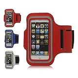 iProtect Premium Sportarmband iPhone 5 / 5s weiß