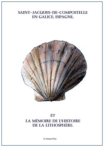 Saint-Jacques-de-Compostelle en Galice, Espagne, et la mmoire de l'histoire de la lithosphre.