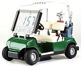Cebego Golf & More - Orologio da tavolo a forma di golf cart