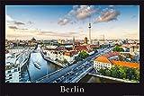 empireposter Deutsche Städte - Berlin von oben - Größe (cm), ca. 91,5x61 - Poster, NEU -