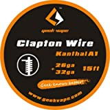 Geekvape Clapton, bobina di filo a spirale per atomizzatore rigenerabile Griffin RTA
