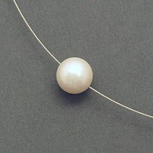 Kette weisse Perle am Reif