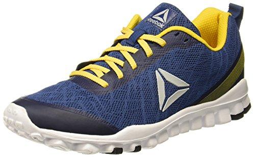 Reebok Men's Ultra Flex Run Blule/Primal Yellow Running Shoes-8 UK/India (42 EU) (9 US)(CN4275)