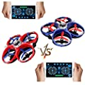 Mini Quadcopter Drone for Kids Beginer with Remote Controller
