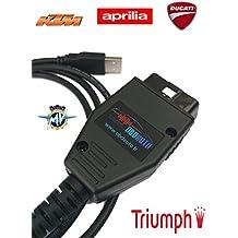 Obdauto- Kit de diagnóstico oficial KTM, compatible con Tune ECU