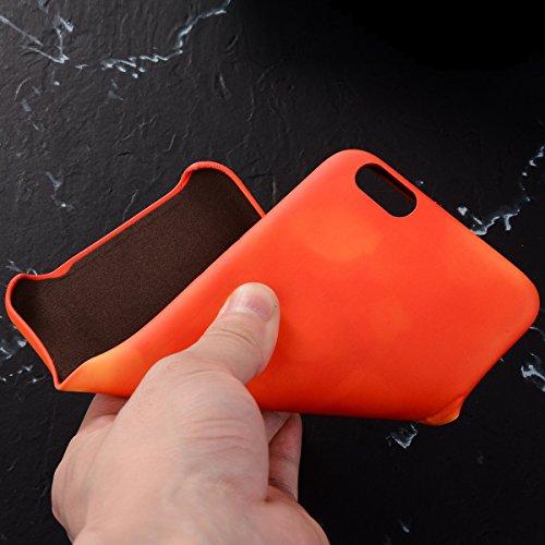 "MOONCASE Thermal Hülle iPhone 7, Farbwechsel Thermo Hitze Induktion Stoßfest Schutzhülle Ultra Slim Flexibel Armor Defender Case Cover für iPhone 7 4.7"" Lila Braun"