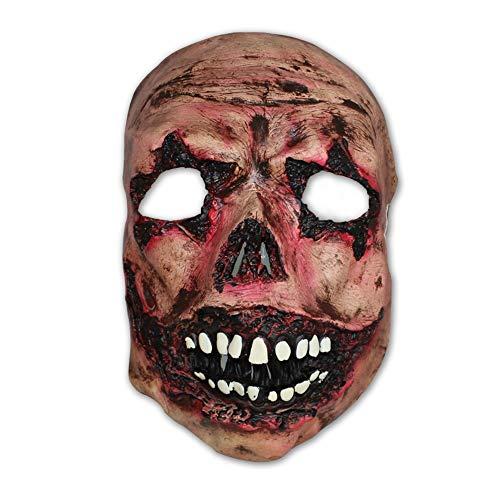 Neuheit Schaurige Gesichts Maske - Brillant für Halloween Partys, Dekorationen oder Trick & Treaters Verkleidungen Karneval ()