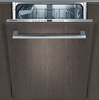 siemens sx65p130eu iq500 geschirrsp ler vollintegriert a 262 kwh jahr 13 mgd 1820 l. Black Bedroom Furniture Sets. Home Design Ideas