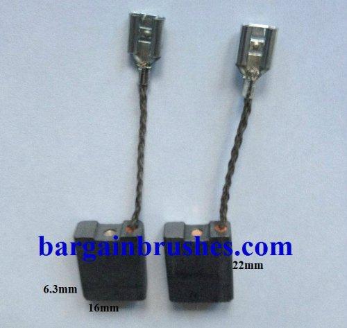 Preisvergleich Produktbild Hilti WS 230 DC 230S 1607014171 bhg230 Kohlebürsten-6 x 16 x 22 - D4