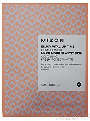 Enjoy Vital-Up Time Firming Mask 25ml x 10 EA Pomegranate Extracts by mizon