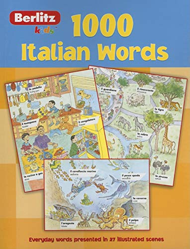 Berlitz Language: 1000 Italian Words (Berlitz 1000 Words)
