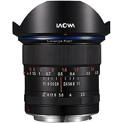 Laowa 12mm F/2.8Zero-d Canon EF–Objectif (Large, MILC/SLR, 16/10, 22–2,8, Manuel, Canon EF)