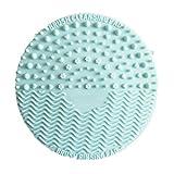 Mini-Silikon Make-up Kosmetik Pinsel Waschwäscher Lötaugengröße Reinigung Werkzeug - Blau