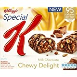 Special K Milk Chocolate Delight Chewy de Kellogg (de 4x24g) - Paquet de 6