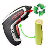 Akku LiIon für Bosch ISO IXO CISO XEO / PTK 3,7 V Li/ PSR 3,6 2,9 Ah statt 1,3 Ah