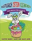 Bastelbuch Ostern Kleinkinder: Malbuch für Kinder