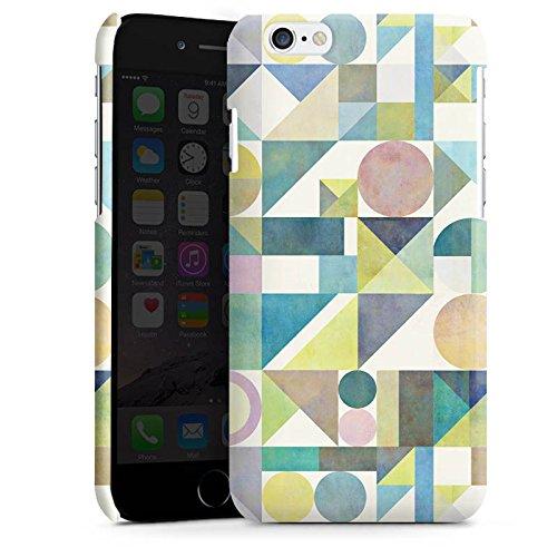 Apple iPhone 6 Plus Silicone Case Coque white - Nordic Combination21 Cas Premium brillant