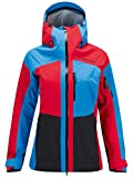 Peak Performance W Heli Gravity Jacket Chinese Red - L
