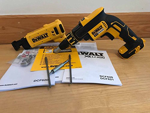 Dewalt DCF620N / DCF6201 XR 18v Collated Brushless Drywall Screwdriver Screwgun