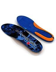 Spenco® - Suelas de gel, tamaño Tamaño 5-7, color azul