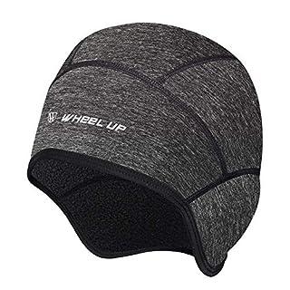Xian Ju Unisex Mütze Bike, Bike Warm Cap, Helm-Unterziehmütze, Dehnbare Kopfbedeckung mit Ohrmuscheln, Ideal füR Wintersport Im Freien