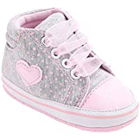 Amlaiworld Stivali Per Bambino 0~18 Mesi,Sneaker tela ragazza Scarpe da bambino suola morbida antiscivolo