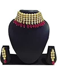 (Rakhi Special Offer Free Multi Color Beads Silver Oxidised Chand Bali)Indian Ethnic Designer Fashion High Quality...